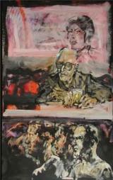<h5>Erinnerung · 2003</h5><p>Öl auf Leinwand &lt;br&gt; 120 x 80</p>