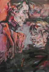 <h5>Mann und Frau · 2003</h5><p>Öl auf Leinwand <br> 80 x 60</p>