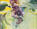 <h5> Sibylle Bross · HexHex · 2013</h5><p>Acryl/Öl auf Leinwand <br> 80 x 100</p>