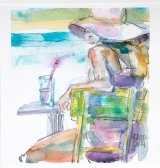 <h5>Cocktail 2014</h5><p>Aquarell 25 x 25</p>