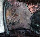 <h5>Sibylle Bross · Flüchtiger Blick · 2003</h5><p>Öl auf Leinwand &lt;br&gt; 60 x 60</p>