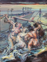 <h5>Sibylle Bross · Marys Landgang · 2014</h5><p>Öl auf Leinwand &lt;br&gt; 160 x 120        sold</p>