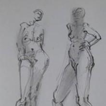 Sibylle Bross Zeichnungen