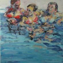 Freundinnen · 2007 Öl auf Leinwand 160 x 120